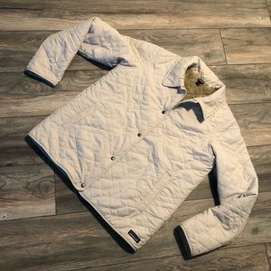 Patagonia Quilted Puffer Sherpa Jacket Women's L